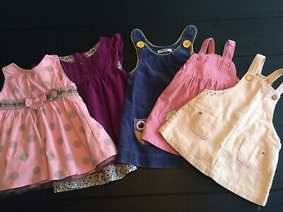 5 Baby Dresses Next Zara Baby Boden From 0 To 12 Months