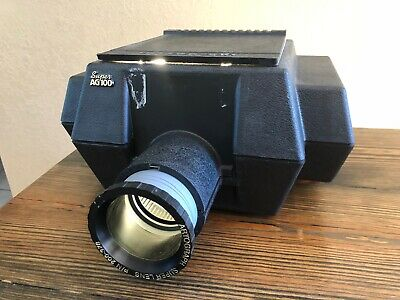 Artograph AG100 Art Projector - Dual Bulbs - With Adjustable Lens Focus