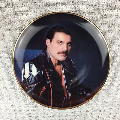 Freddie Mercury (Queen) 'Hot Space' Danbury Plate + COA + Box - Rare