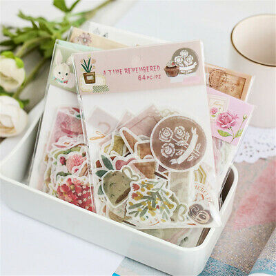 Stationary Scrapbooking Phone Decor Diary Label Journal Stickers Paper Sticker