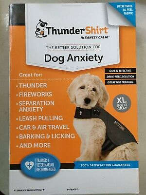 Thundershirt XL Gray  for Dog Anxiety