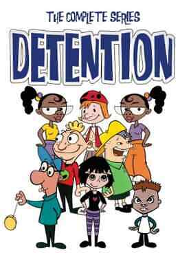 Detention: The Complete Series (DVD, 2019, 2-Disc Collection) Brand New