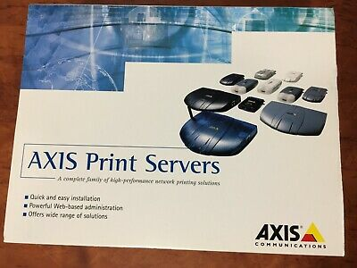 Axis Communications Axis 5400+ Network Print Server 0130-001-03