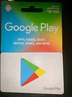 Google Play Card $500