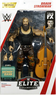 WWE Mattel Braun Strowman Elite Series Top Talent 2019 Figure