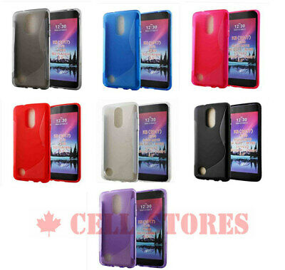 Ultra Thin Soft TPU Silicone Jelly Bumper Back Cover Case for LG K4 2017