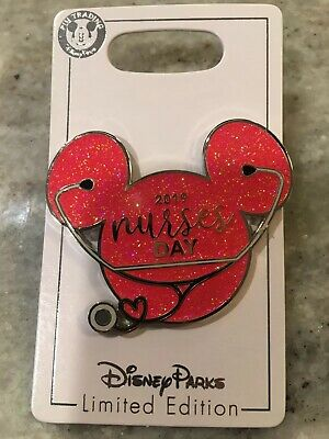 Disney Pin Parks LE 2000 New Nurses Day 2019 Mickey Mouse Head