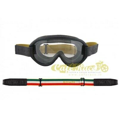Ethen Maske 03 Scrambler Objektiv Photochromic Maske Moto-Cross Made Italy