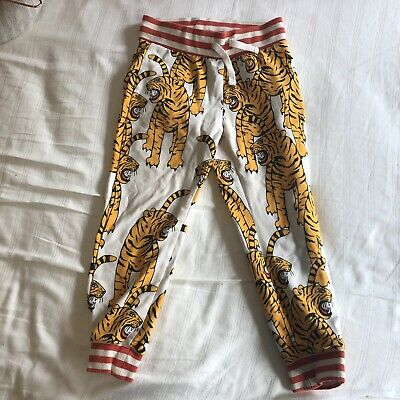 Mini Rodini Tiger Tracksuit Pants Size 1.5-3 years