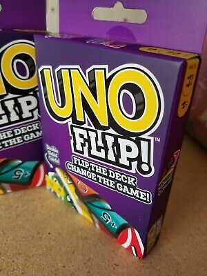 Mattel Uno Flip Card Game 887961751062 Ships in 1 day from Houston, Texas