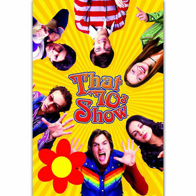 H-1992 That 70s Show Classic TV Series Show Funny Wall Silk Poster
