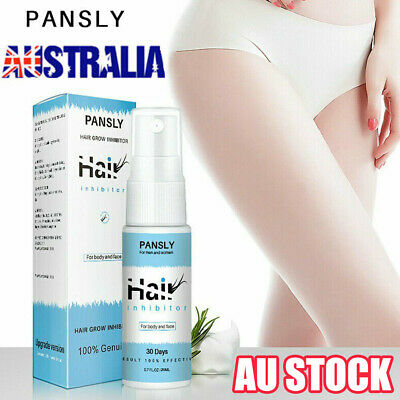 Unisex 100% Natural Hair Growth Inhibitor Spray Hair Removal From Body PANSLY vw