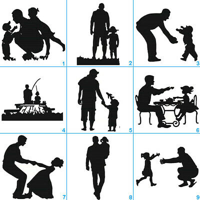 Father's Day Metal Cutting Dies Stencil DIY Scrapbooking Album Paper Card Craft