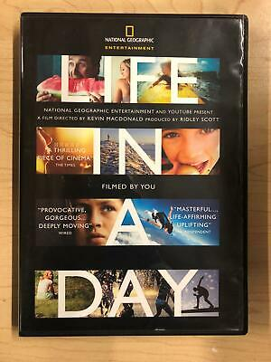 Life in a Day (DVD, National Geographic, 2011) - F0428