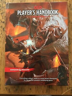 Players Handbook 5th Edition Dungeons and Dragons