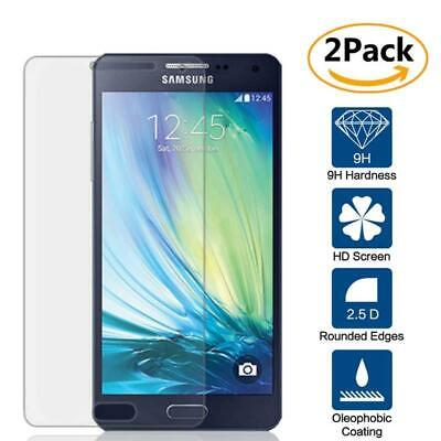 2 Pack Tempered Glass Screen Protector For Samsung Galaxy A3 A3000 A300F A300H