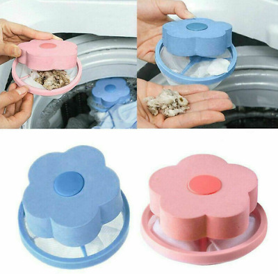 Pet Hair Remover For Washing Machine Floating Pet Fur Catcher Laundry Lint