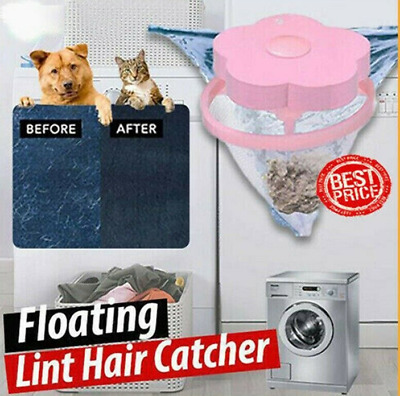 Floating Pet Fur Catcher Laundry Lint Pet Hair Remover For Washing Machine