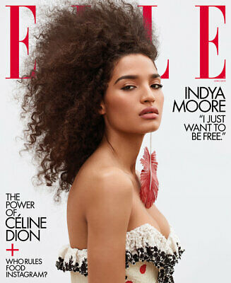 Indya Moore - Elle Magazine - June 2019 - Brand New - No Mailing Label