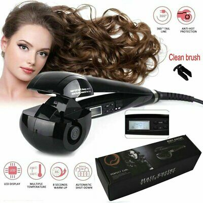 LCD Automatic Anion Hair Curler Curling iron Roller Styling Magic Curler Tools