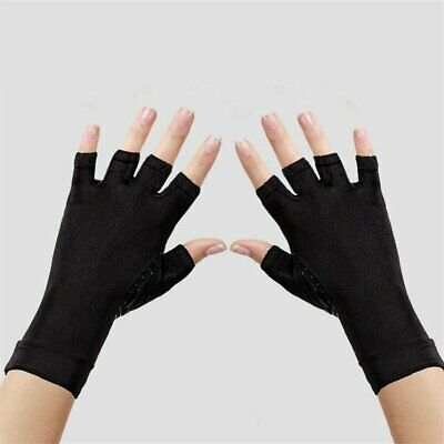 A Pair Compression Copper Arthritis Gloves Hand Wrist Support Pain Relief Brace$