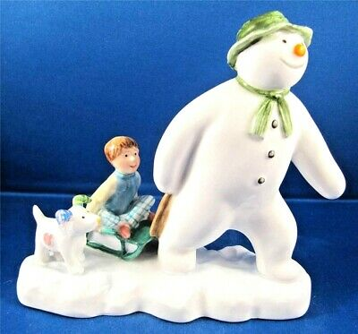 John Beswick Snowmen  - The Snowman, Billy and the Snowdog - New 2013