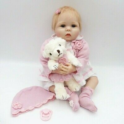 Real Looking Reborn Toddler Doll 22''/55cm Realistic Lifelike Baby Girl Presents