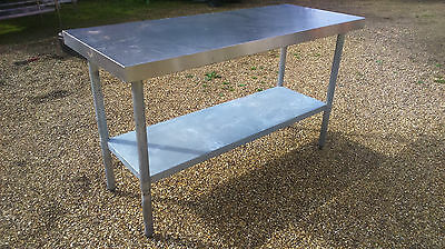 stainless steel table Ref: A89