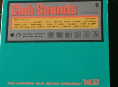 CLUB SOUNDS VOL. 52 - THE ULTIMATE CLUB DANCE COLLECTION (2 CD - 2010) Ke$ha....