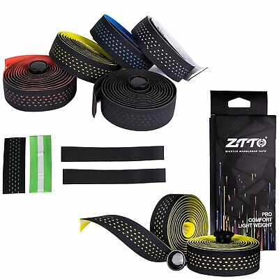 2PCS Handlebar Tape Bicycle Road Bike Cycling Sports Handle Wrap Ribbon Bar Tape