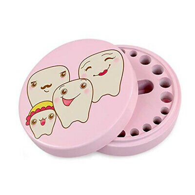 Baby Souvenir Box Teeth Container Teeth Save Case Wooden Teeth Box For Kid HO