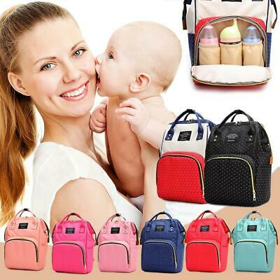 LAND Multifunctional Baby Diaper Backpack Changing Bags Nappy Mummy Shoulder Bag