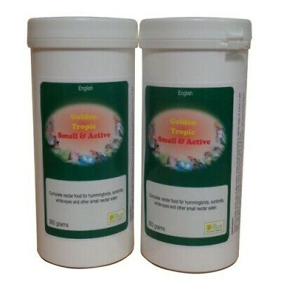 Golden Tropic Small & Active Nectar Food 360G Hummingbirds/Sunbirds-Birdcare Co.