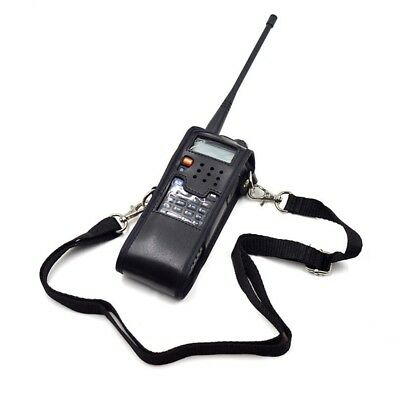Extended Leather Soft Case Bag for Baofeng UV-5R 3800mAh Portable Radio Wal Q6T7
