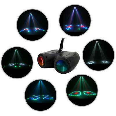 20W RGBW 128LED Double Head Airship Projector Lamp Laser Stage Effect Light