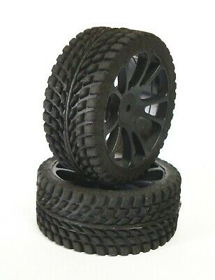 "Gomme Tire SP RACING 1/10 Touring ""DURA"" RADIALI Nero  SPORT Series 2pz. SP00020"