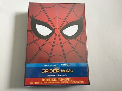 Spider-Man Homecoming - Coffret Edition Collector Blu-Ray + Dvd