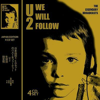 U2 - We Will Follow: The Legendary Broadcasts 4 Cd Set