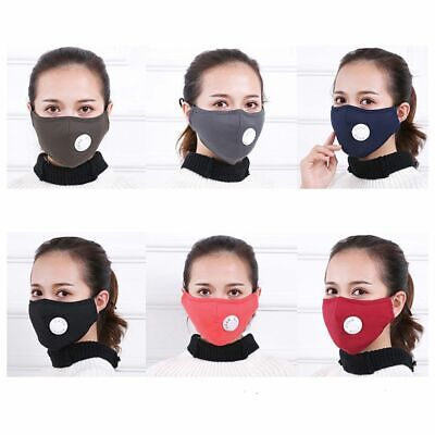 Anti Pollution Mask Dust Respirator Washable Reusable Mask Mouth Allergy Asthma