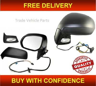 Citroen C4 Picasso 2007-2013 Wing Mirror Glass Heated N//S Passenger Side Left