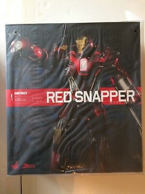 MINT Hot Toys 1:6 Scale Iron Man Mark XXXV RED SNAPPER PPS002 NEW IN BOX