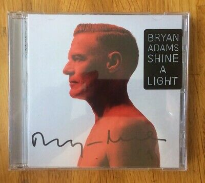 Signed Bryan Adams - Shine a Light Signed CD Pre Order With Proof