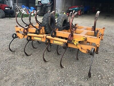 Simba 5M Hydraulic Folding Pig Tail Cultivator For Tractor VGC PLUS VAT