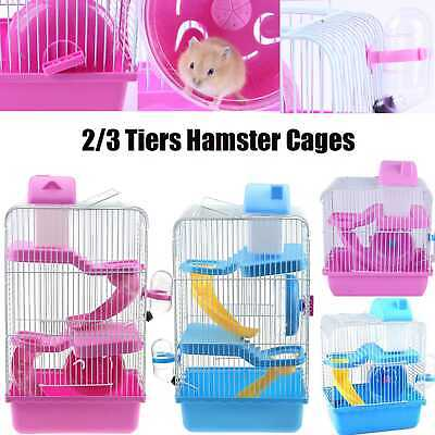 Pet Ting Jasmine Mouse Hamster Cage Large with Running Tubes Gerbil Syrian Dwarf