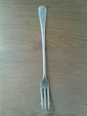 Antique Solid Sterling Silver Old English Pattern Pickle Fork London 1903