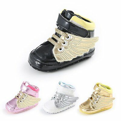 Baby Kids Boy Girl Toddler Infant Shoes Soft Sole Crib Shoes Sneaker 0-12 Months