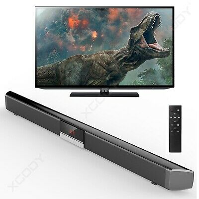 NEW 40W TV Sound Bar Home Theater Soundbar 4.0 System Subwoofer Coaxial Optical