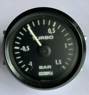 Lucas/Caerbont Turbo Boost Gauge Electrical 52Mm 150053008001C- Fits Various