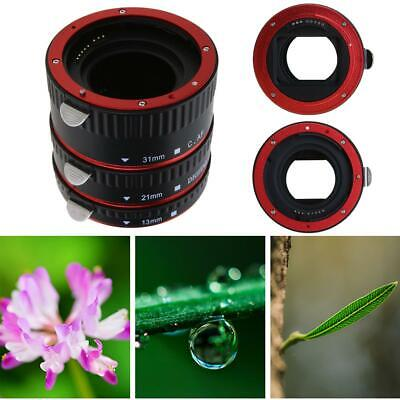 Automatic Focus AF Macro Extension Tube Ring Mount Bayonet for CANON EF S Lens