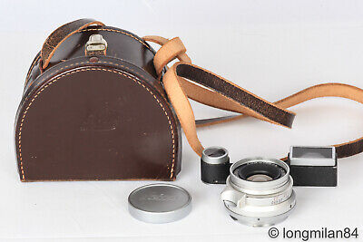 *EXC+* Leica Summicron M 35mm f2 8 elements w/eyes 1:2/35 goggles for M3 11108